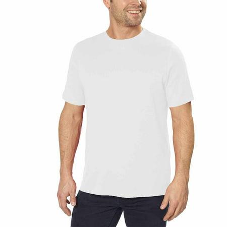 e00711ec Kirkland Signature - Kirkland Signature Mens 100% Peruvian Pima Cotton Crew  Neck Short Sleeve T-Shirt (White, XX-Large) - Walmart.com