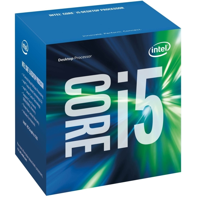 Intel Core i5 i5-6500 Quad-core (4 Core) 3.20 GHz Processor - Socket H4 LGA-1151Retail Pack - 1 MB - 6 MB Cache - 8 GT/s DMI - 64-bit Processing - 3.60 GHz Overclocking Speed - 14 nm - 3 Number of Mon