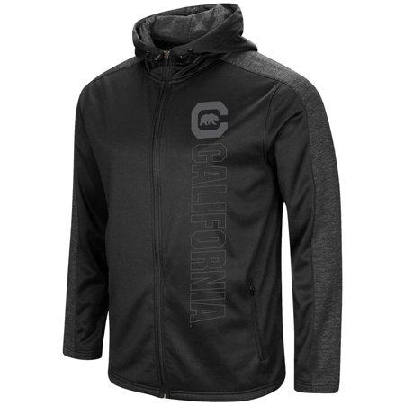 Cal Berkeley Golden Bears Men's Full Zip Jacket Blackout -