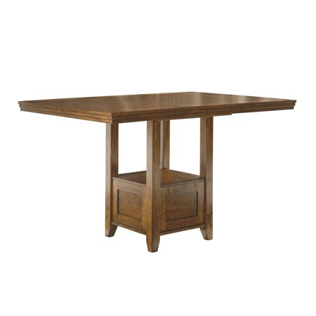Ralene Rectangular Dining Room Counter Extendable Table Wood/Medium Brown - Signature Design by Ashley