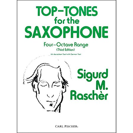 Carl Fischer Top-Tones For The Saxophone by