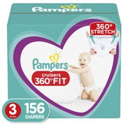 Pampers Cruisers 360 Fit Diapers (Choose Size and Count)