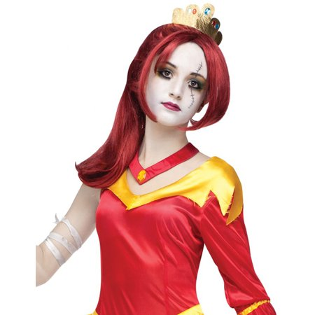 Beast Wig (Adult And Teen Red Belle Beauty And The Beast Once Upon A Zombie Wig Accessory)