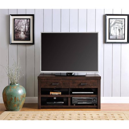 Westbrook TV Stand for TVs up to 42″, Dark Walnut