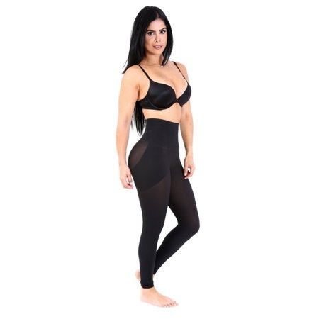 SHAPEX Butt Lifter Leggings Fully Strach Hold and firm Body shape Sexy Comfy Black S