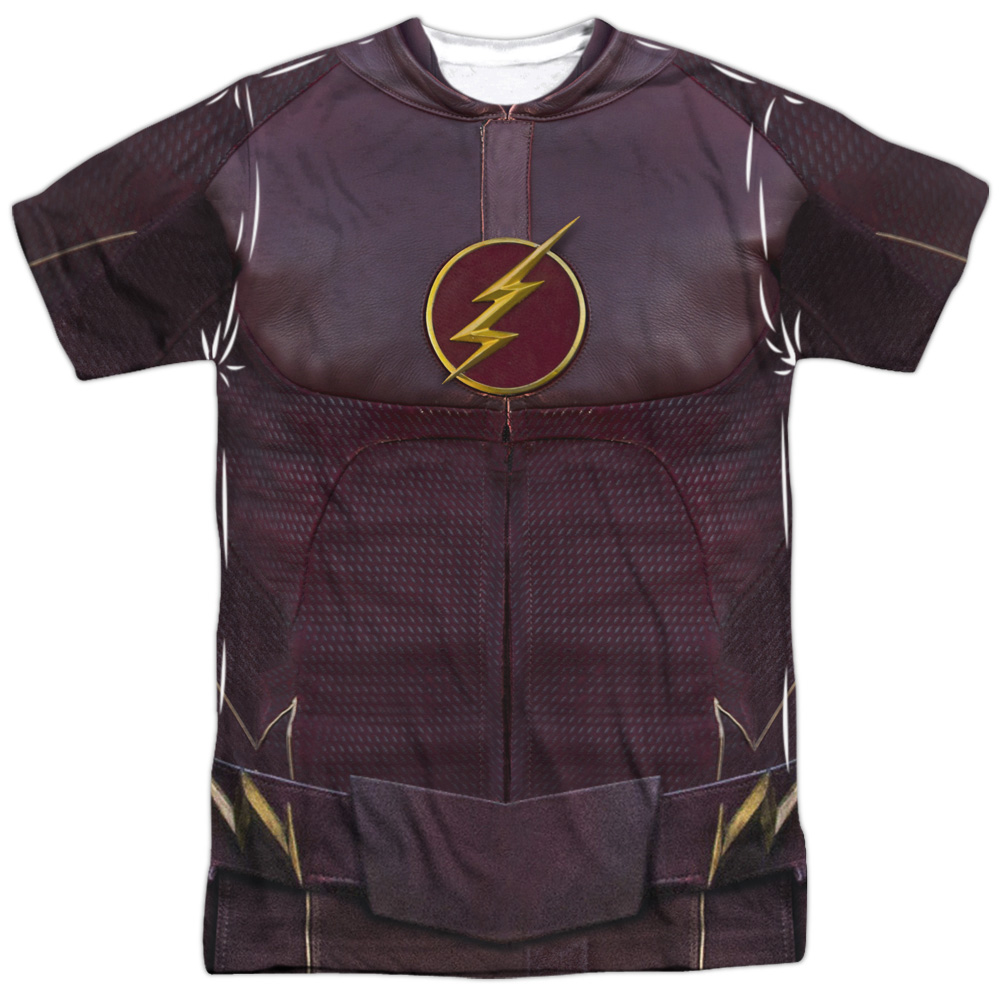 The Flash Flash Uniform (Front Back Print) Mens Sublimation Shirt