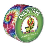 """Duck Brand 1.88"""" Love Tie-Dye Printed Duct Tape, 10 Yd."""