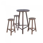 FIR WOOD Pub Table AND STOOLS SET by Accent Plus
