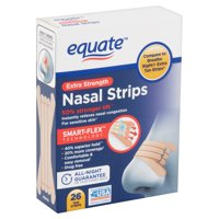 Equate Extra Strength Tan Nasal Strips, 26 Count