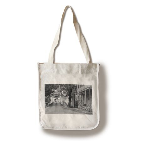 Downieville, California - Exterior View of the Mountain Messenger Building (100% Cotton Tote Bag - Reusable) - California Tote Bag