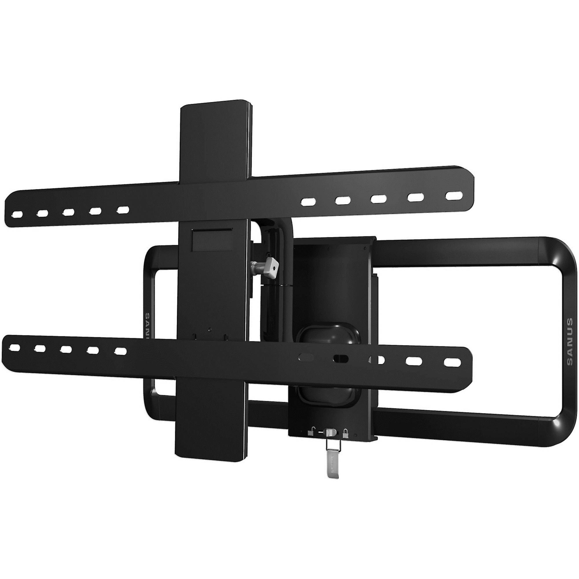 "SANUS Premium Series Full-Motion Mount for 51""-70"" Flat-Panel TVs up to 125 Pounds"
