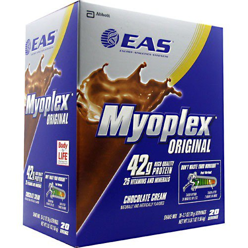 Myoplex Chocolate Cream EAS 20 Packet