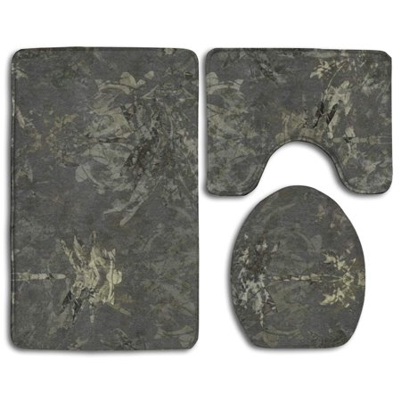 Chaplle Charcoal Gray Dragonfly Charcoal Batik 3 Piece