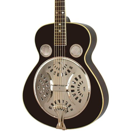 - Rogue Classic Spider Resonator Black Roundneck