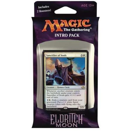 Magic the Gathering: MTG Eldritch Moon: Intro Pack / Theme Deck: Unlikely Alliances (includes 2 Booster Packs & Alternate Art Premium Rare Promo) White / Black -.., By Magic: the (Magic The Gathering Booster Packs For Sale)