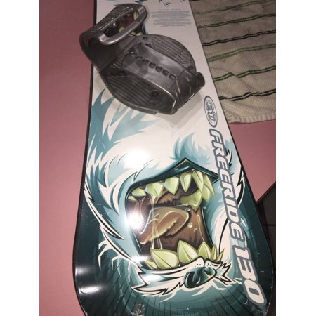 Freeride 130 snowboard with bindings 130cm UNISEX Beginner Level