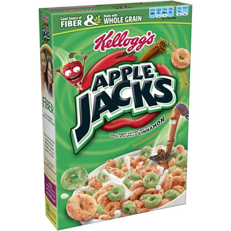 Apple Jacks Breakfast Cereal - 10.1oz - Kelloggs