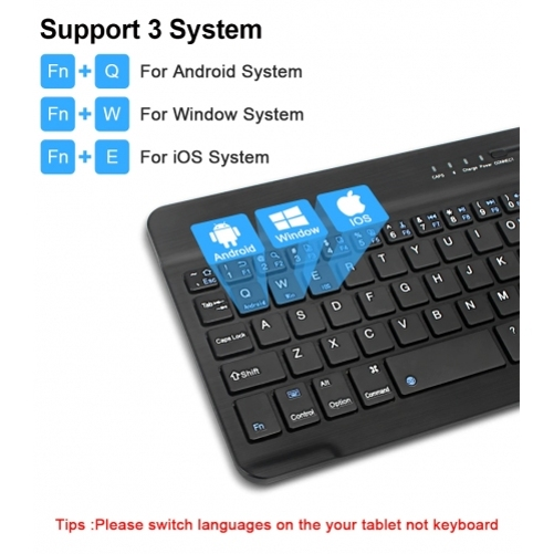 Jet Black Portable Keyboard with Integrated Commands for LG G8X ThinQ BoxWave SlimKeys Bluetooth Keyboard LG G8X ThinQ Keyboard