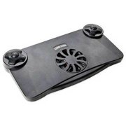 Syba SY-NBK68011 USB or Battery Powered Laptop Cooling Pad (Black) NEW