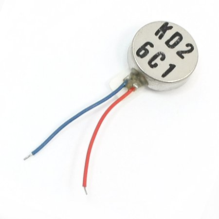 Dc Button - Mobile Phone 10mm Dia 3.4mm Thick DC 3V Micro Vibration Motor Button Vibration