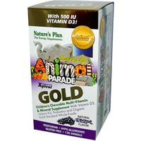 Animal Parade Gold (120 piece, Grape) by Nature's Plus