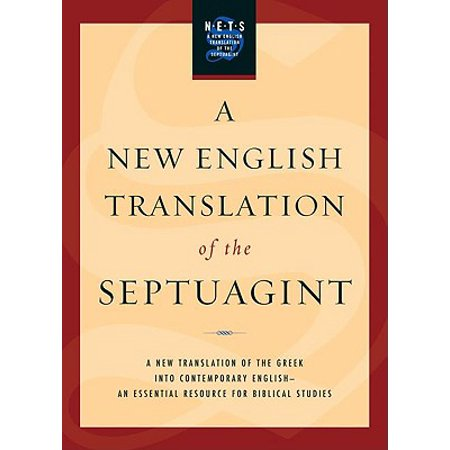 New English Translation of the Septuagint-OE