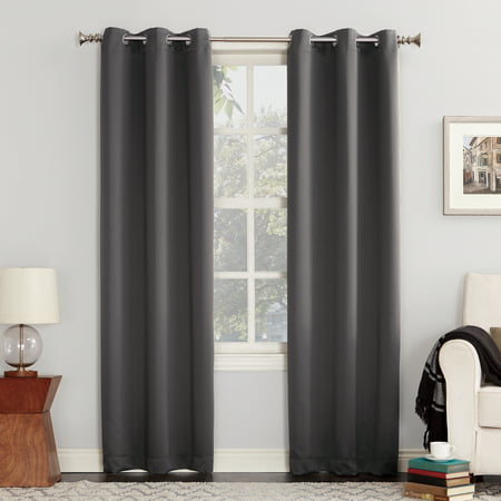 Double Wall Polycarbonate Panels (Sun Zero Nolan Energy Efficient Blackout Grommet Curtain)