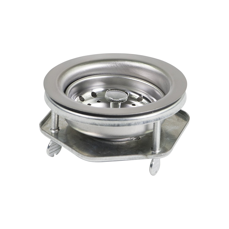Kitchen Sink Drain Assembly: Everflow Kitchen Sink EZ Connect Stainless Steel Drain