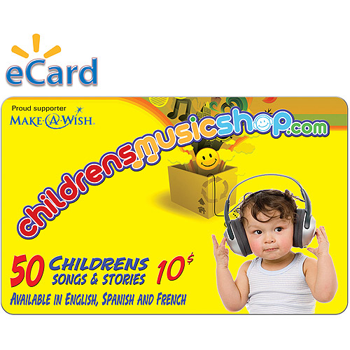Childrens Music Shop $10 (Email Delivery)