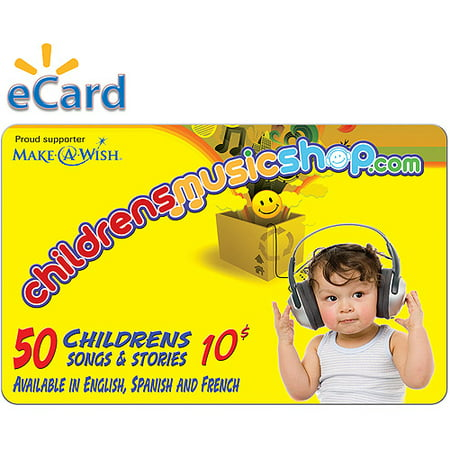 Childrens Music Shop $10 (Email Delivery)](Childrens Online Stores)