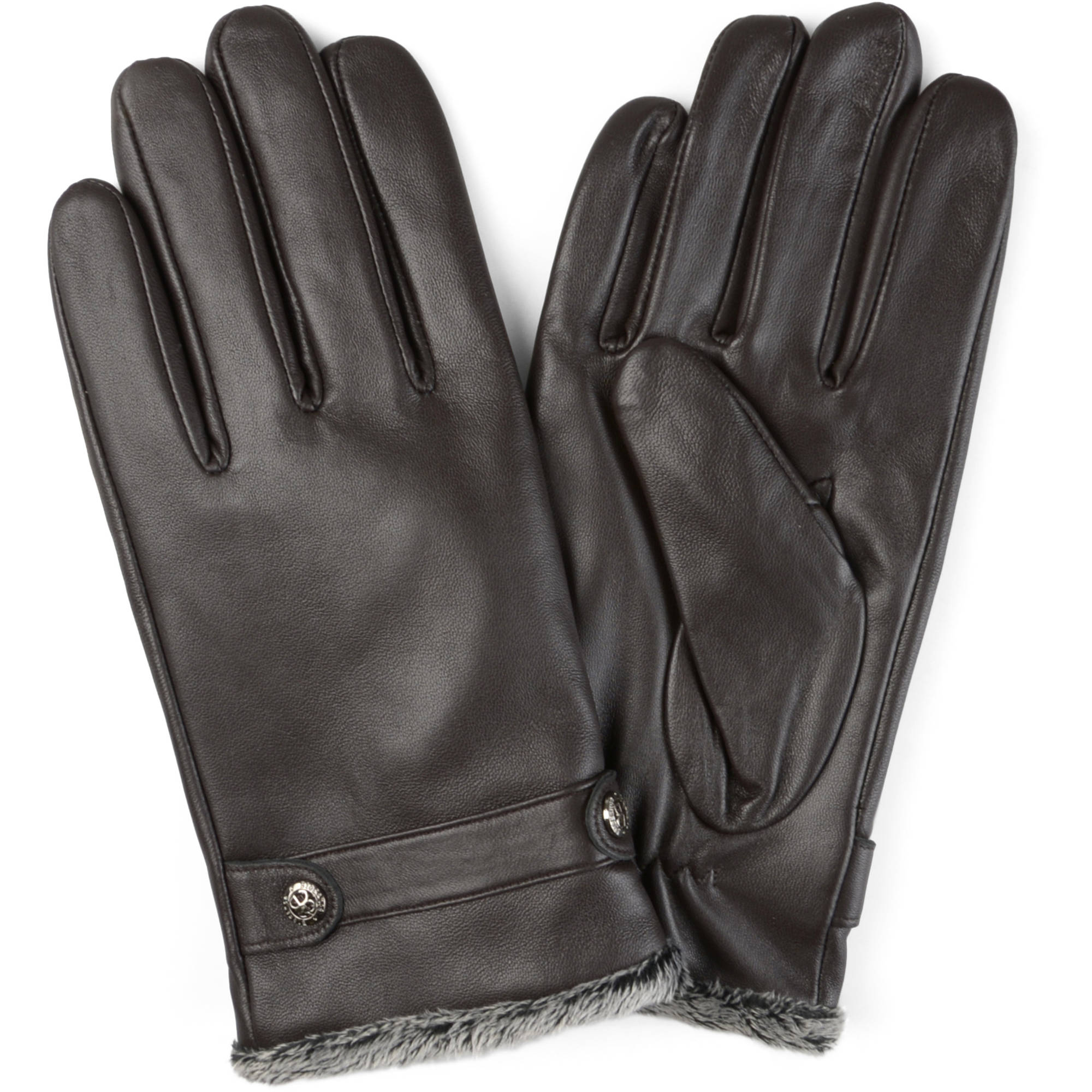 Daxx Mens Lined Fashion Leather Sheepskin Driving Gloves