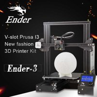 Creality 3D Ender DIY 3D Printer Kit 220x220x250mm Printing Size With Power Resume Function/MK10 Extruder 1.75mm 0.4mm Nozzle