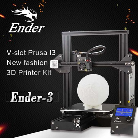 Creality 3D Ender DIY 3D Printer Kit 220x220x250mm Printing Size With Power Resume Function/MK10 Extruder 1.75mm 0.4mm