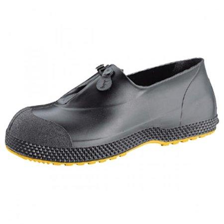 Servus 617-11003-BLM-1XL 4 in. Super Fit Overshoes Boot for Men, Black