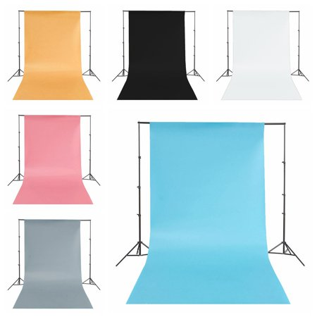 White/Blue/Orange/Pink/Grey/Black Photography Background Backdrops Photo Studio Props PVC Matte Washable 130x68cm