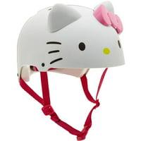 Sanrio Hello Kitty 3D Girl Multisport Helmet (White)
