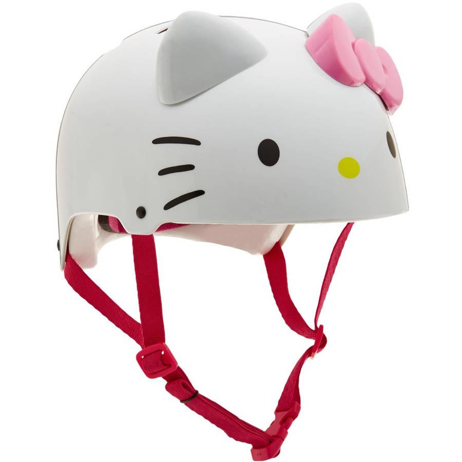 Bell Sanrio Hello Kitty 3D Girl Multisport Helmet, White, Child 5+ (52-54cm)