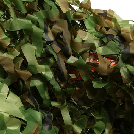 Ejoyous 2 x 3 Meters Camouflage Net Military Hunting Shooting Hide Army Camo Netting, camo netting, camouflage netting - image 7 de 9