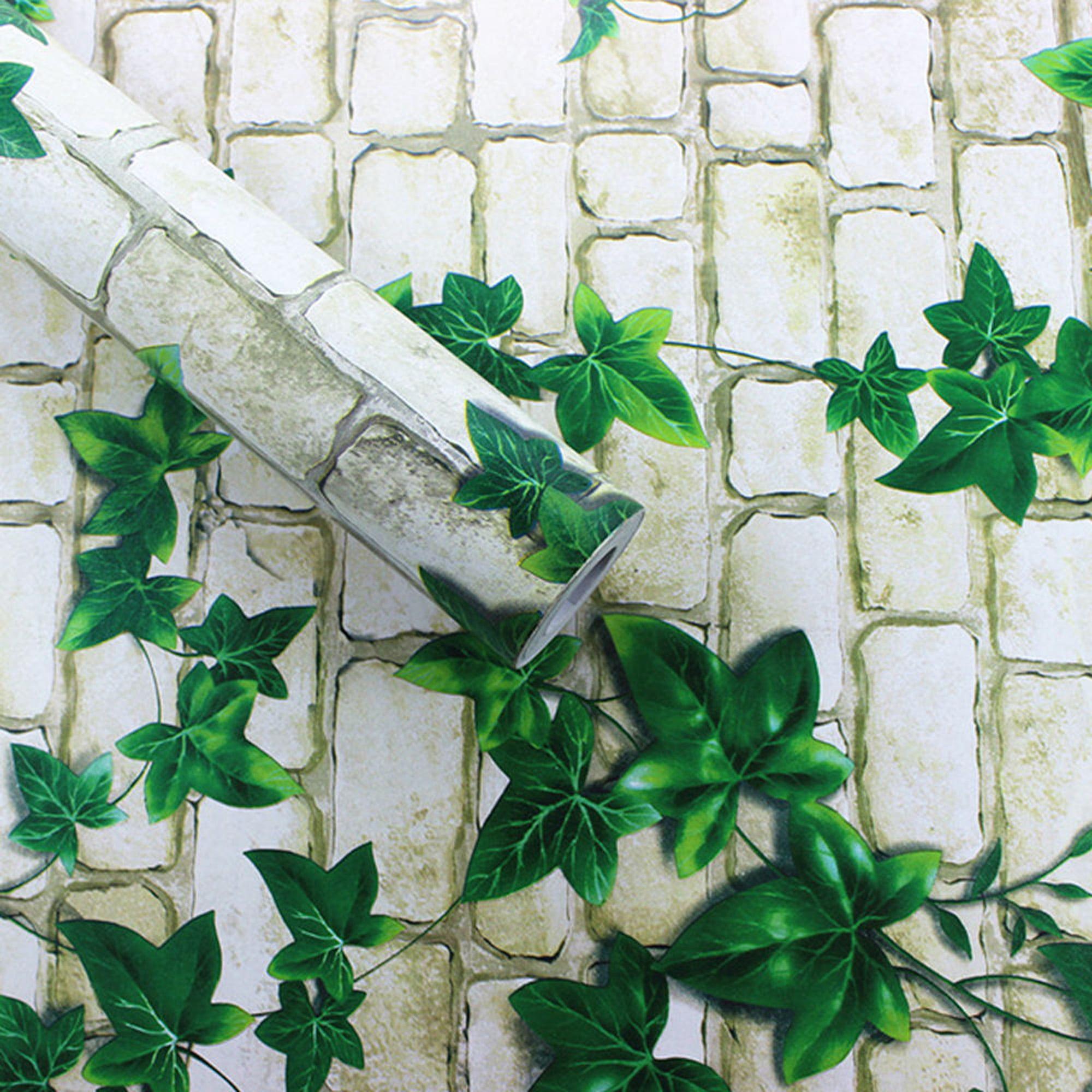 Dodoing Brick Paper Wallpaper Wood Peel And Stick