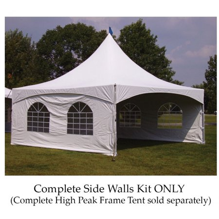Party Tents Direct Outdoor Event Tent Complete Side Wall Kit (20x20