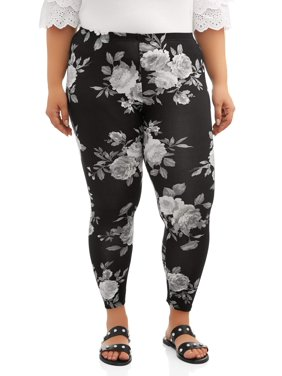 6dbc25fa22cc4 Product Image Women's Plus Size Printed Legging