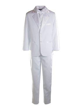 Boys 2 Button Notch Tuxedo - 3 Available Colors