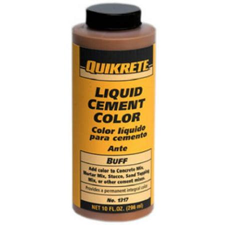 - QUIKRETE COMPANIES 10-oz. Buff Liquid Cement Color 1317-02