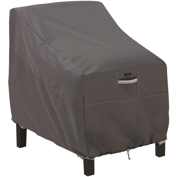 Classic Accessories Ravenna Water-Resistant 38 Inch Deep Seated Patio Lounge Chair Cover - Walmart.com - Walmart.com