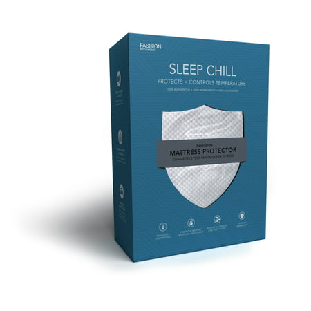 Sleep Chill Mattress Protector with Soft and Moisture ...