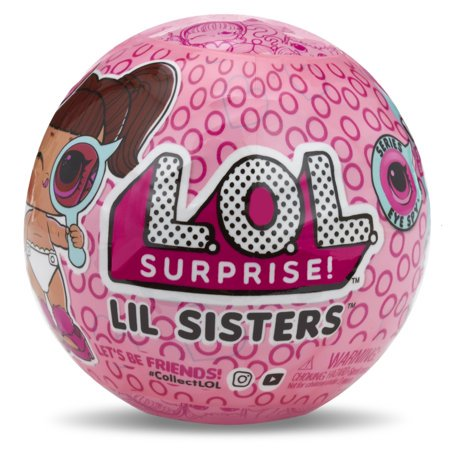 L O L Surprise Eye Spy Lil Sisters Doll Series 4 1 Walmart Com