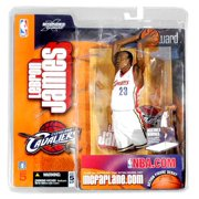 McFarlane NBA Sports Picks Series 5 LeBron James Action Figure [White Jersey]
