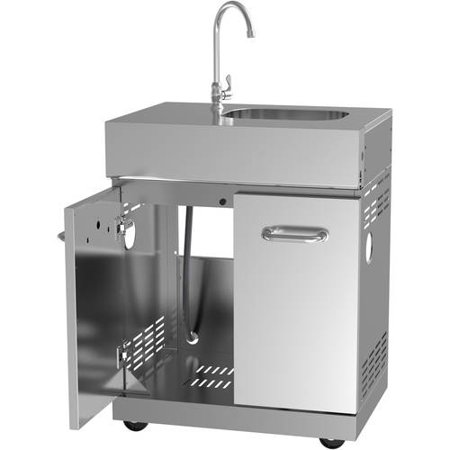 Better Homes and Gardens 4-Burner Stainless Steel Gas Island