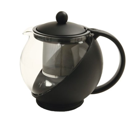 Norpro 861e eclipse 6 cup glass teapot w removable - Cup stainless steel teapot ...