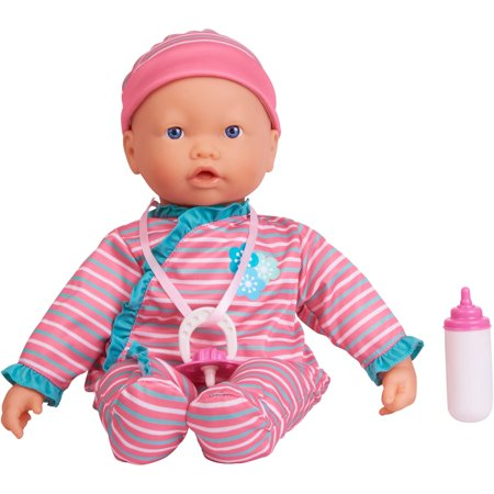 (My sweet love 3-piece interactive baby doll set, designed for ages 3 and up)